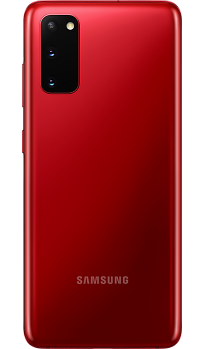 Samsung Galaxy S20 Red